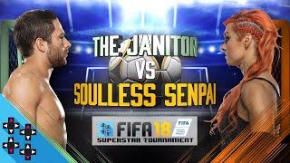 BECKY LYNCH vs. NOAM DAR - FIFA 18 Superstar Tournament - Gamer Gauntlet