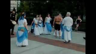 АМЕРИКА - СВОБОДНАЯ СТРАНА  Belly dance PURE ORLANDO GROUP 22.09.2010