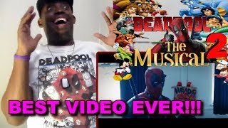 Deadpool The Musical 2 - Ultimate Disney Parody REACTION!!!