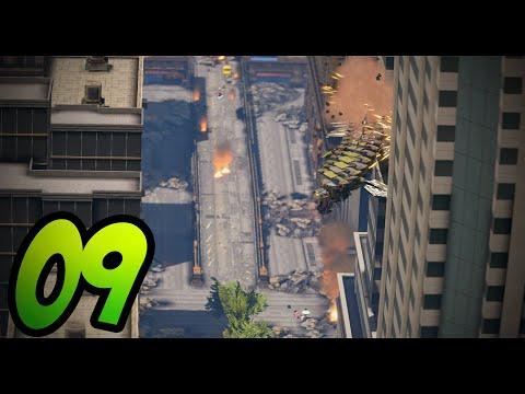 Lego Marvel Avengers Gameplay Walkthrough  - Part 9 - Saving The City! (PS4 Gameplay 60FPS)