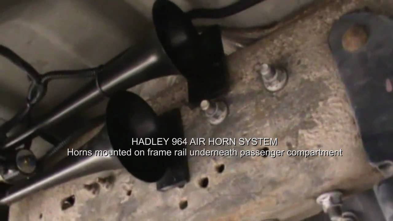 Watch on air horn wiring diagram