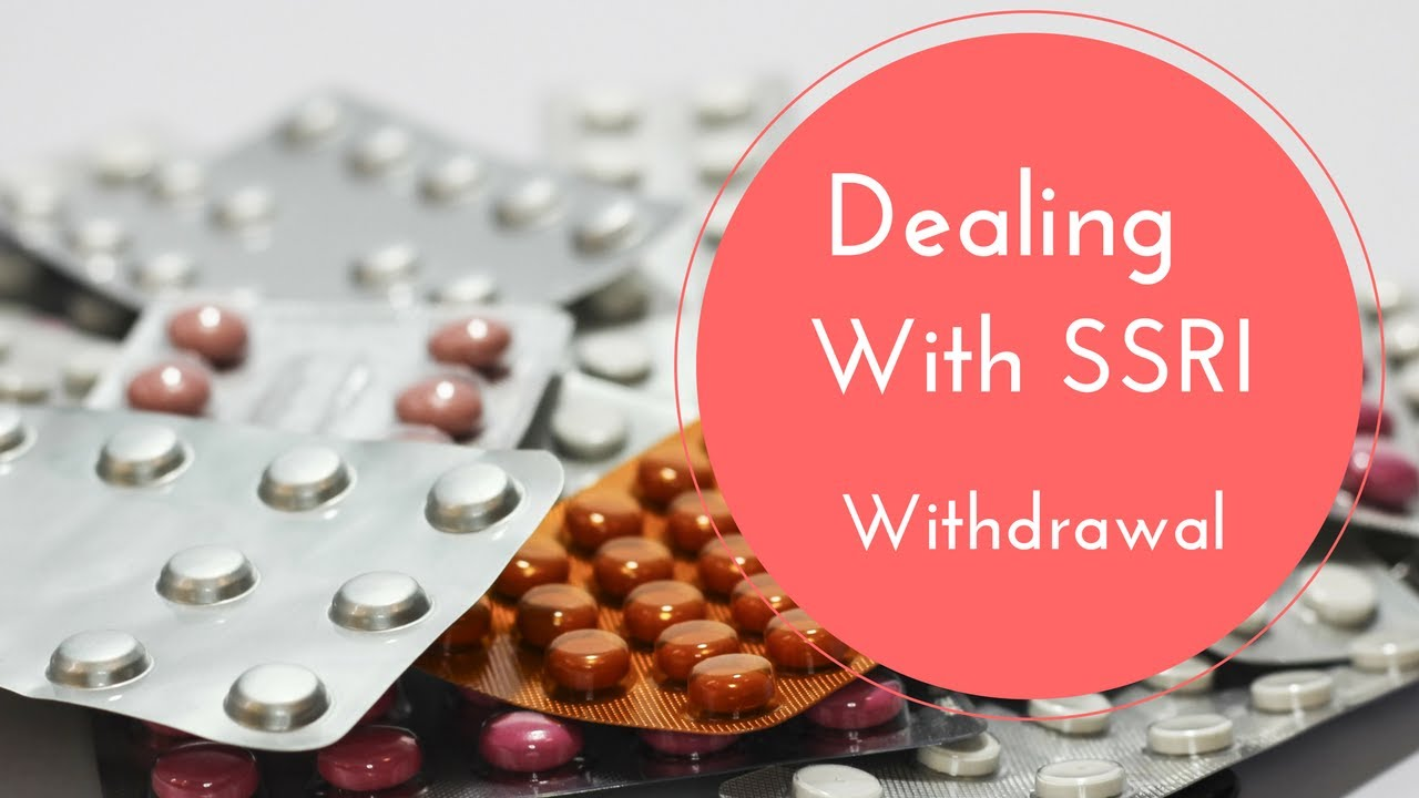 Dealing With SSRI Withdrawal - Vlog #014