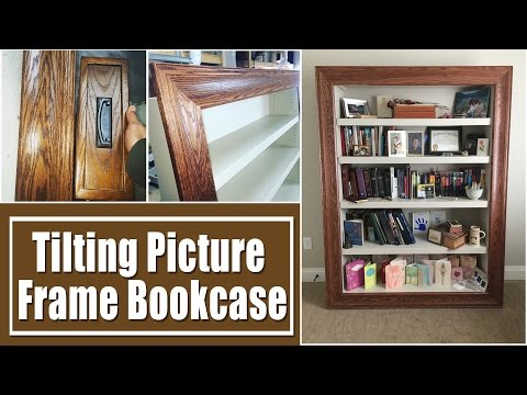 Build a picture frame bookcase