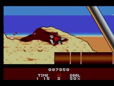 #1 Zagrajmy w Cool Spot (1994 - Master System) (PL) - Plaża i port