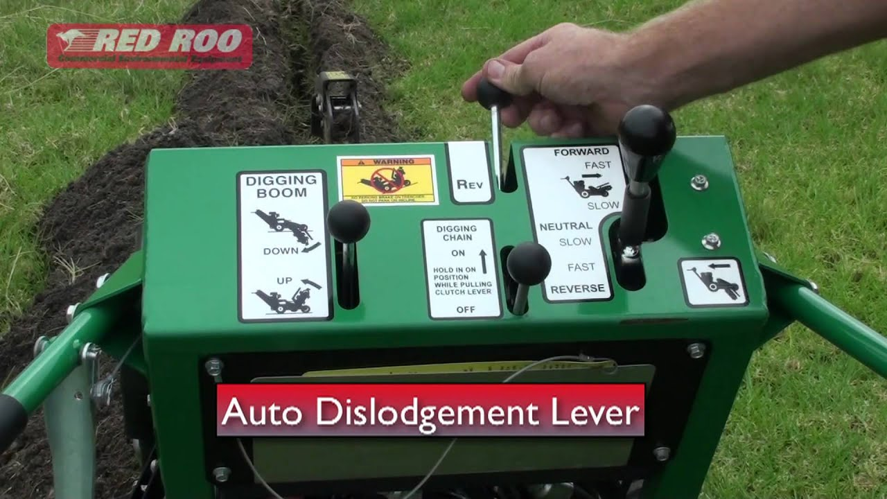 Hire A Irrigation Trencher How To Use