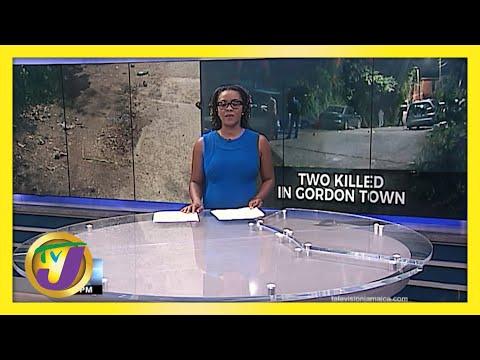 4 shot, 2 Dead in Gordon Town Jamaica   TVJ News