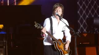 """Band on the Run"" Paul McCartney@Bryce Jordan Center  State College, PA 10/15/15"