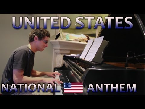 United States Anthem - Piano Cover (World Cup 2014)