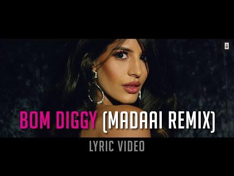 Zack Knight X Jasmin Walia - Bom Diggy (MADAAI Remix) [LYRIC VIDEO]