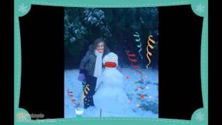 me and snow man Thumbnail