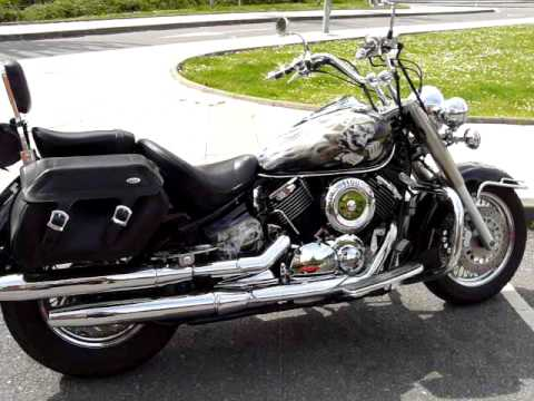 yamaha drag star 1100 youtube