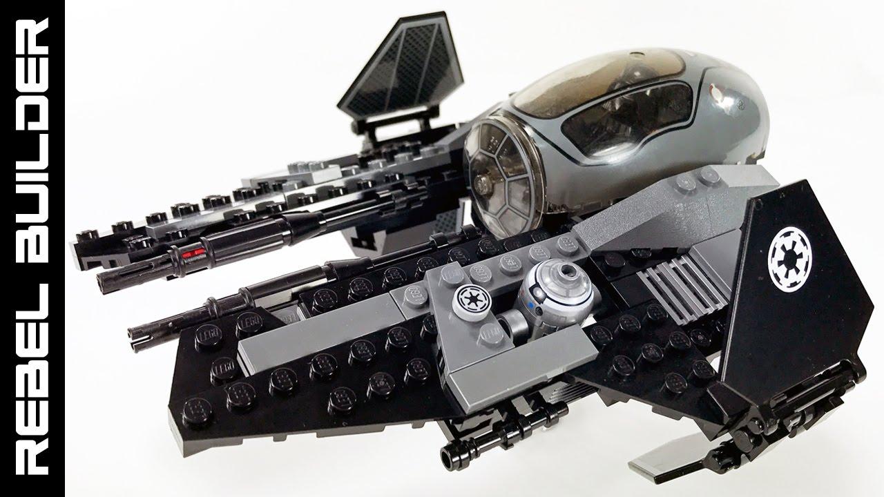 LEGO Star Wars Darth Vader's Jedi Interceptor! * UPDATED ...