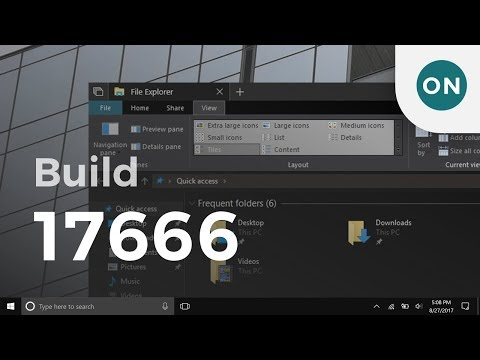 Dark File Explorer, Cloud Clipboard and more in Windows 10 Build 17666 for PC