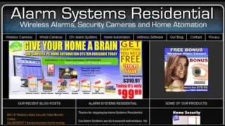 Alarm Systems Residential has Reviews and a Blog on Home Security and Automation