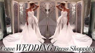 COME WEDDING DRESS SHOPPING WITH ME!