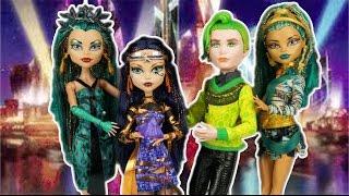 Monster High Boo York Nefara De Nile with Cleo De Nile and Duece Gorgon Two Pack Doll Review
