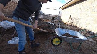 Обнаружил логово бобров/ Дом в деревне  работа на участке.