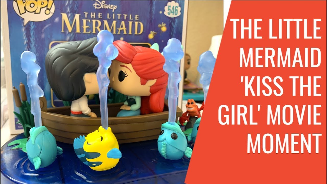 The Little Mermaid Movie Moment Kiss The Girl Target Excl #546 Funko Pop