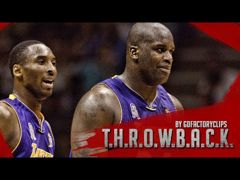 Throwback: Kobe Bryant 36 Pts & Shaquille O