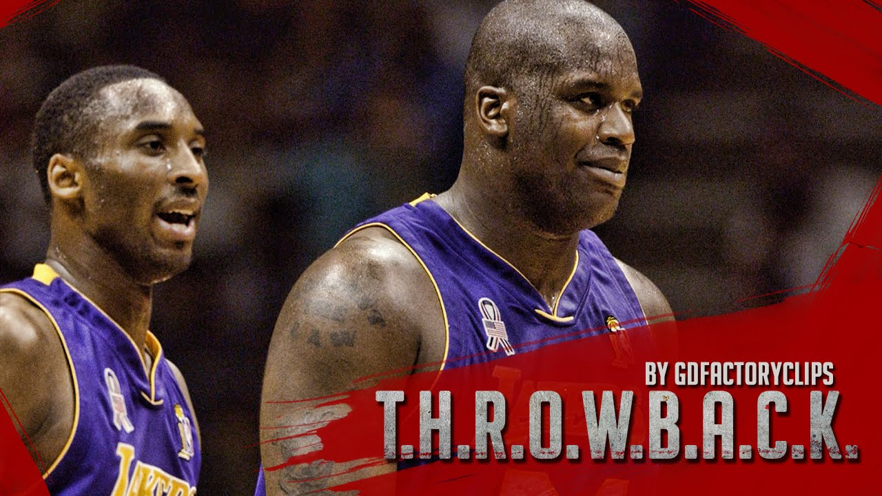Throwback  Kobe Bryant 36 Pts   Shaquille O Neal 35 Pts Full Highlights at  Nets (2002 Finals G3) - YouTube 58145095d