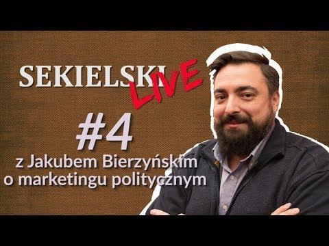 SEKIELSKI LIVE: Z Jakubem Bierzyńskim o marketingu politycznym