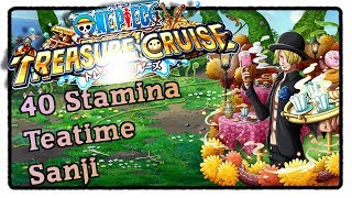40 Stamina Teatime Sanji - One Piece Treasure Cruise [Deutsch]