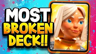 WE'VE FOUND the BEST BATTLE HEALER Deck!