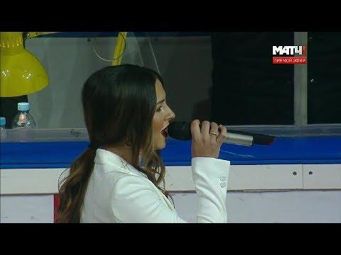 Nyusha / Нюша - Гимн России (@Live, КХЛ, 2019)