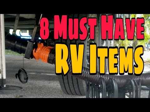 8 RV Essentials | RV Living Accessories | RV Living Full Time | How to & DIY