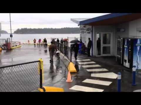 Gabriola ferry passengers