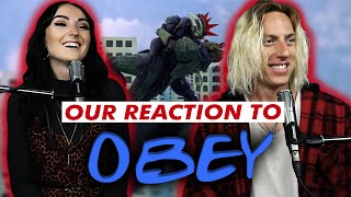 Wyatt and Lindsay React: Obey by Bring Me The Horizon with YUNGBLUD