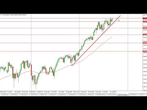 DOW Jones 30 and NASDAQ 100 Technical Analysis for the week of September 18, 2017 by FXEmpire.com