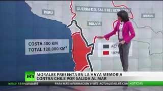 Morales presenta en La Haya la memoria contra Chile por la salida al mar