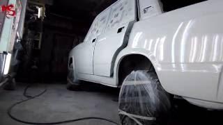 Ваз 2107 видео 4 Покраска авто(Это заключительное видео по ремонту Ваз 2107 , Покраска автомобиля производилась в практически военных услов..., 2016-06-14T03:51:34.000Z)