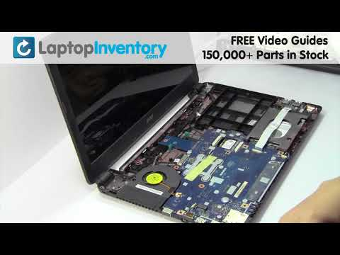 Acer Aspire E1 FAN Replacement Motherboard Replacement Replace Fix Install Laptop E5 ES1 V3 V5 P255