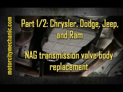 Part 1/2 Chrysler, Dodge, and Jeep NAG 1 transmission valve body