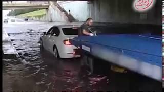 Море волнуется раз: последствия ливня на дорогах автограда