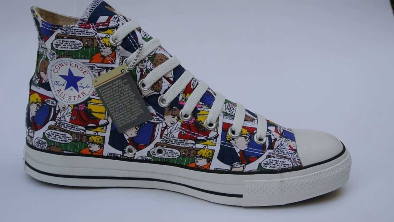 Converse Schuhe Chuck Taylor All Star Chucks 1T260 Comic LIMITED EDITION HI c650e8333