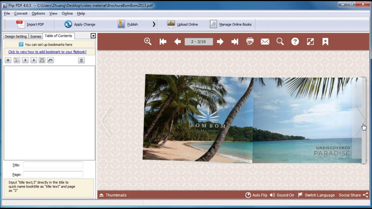 E-Brochure Software - Create Digital Brochures - YouTube
