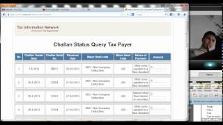 How to view and Download  Challan Status Inquiry file | Hindi