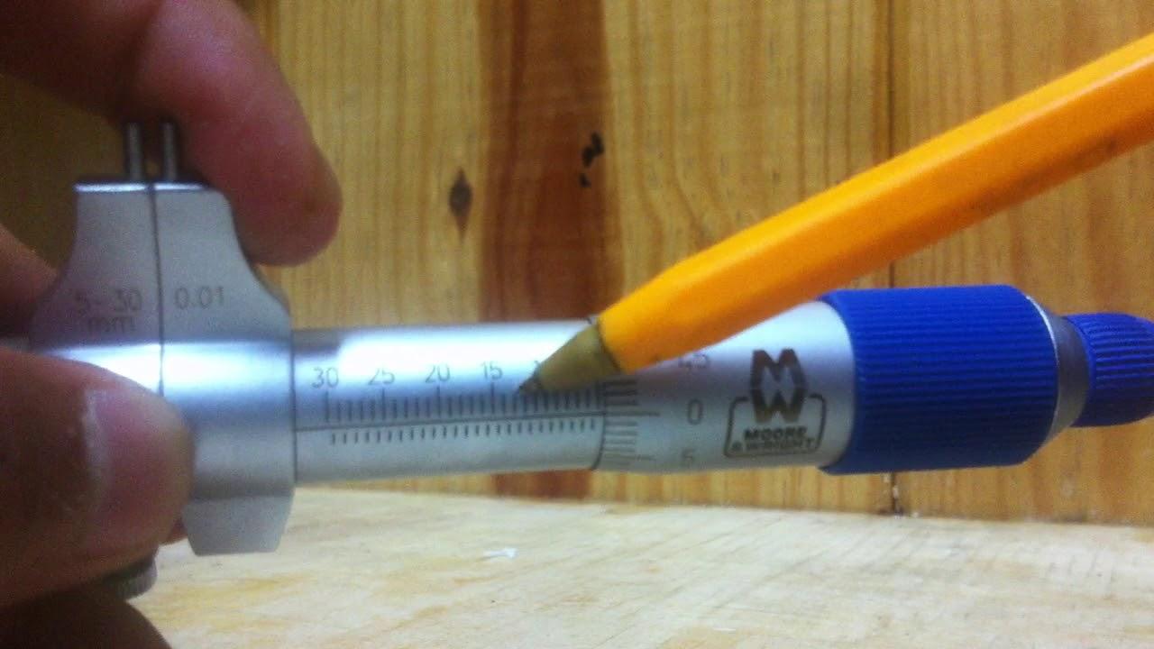 Como medir con un micr metro de interiores f cil youtube - Micrometro de interiores ...