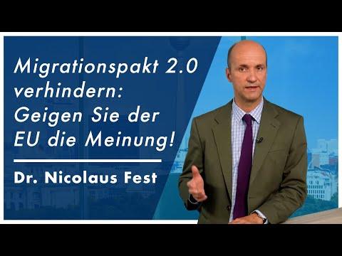 Migrationspakt 2.0 verhindern: Geigen Sie der EU die Meinung!