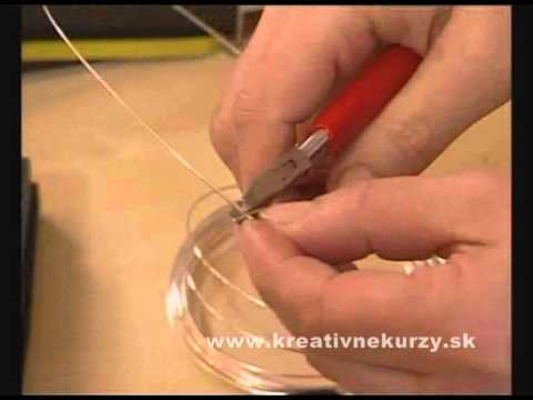 Šperky z drôtu - Wire jewelry - YouTube c74cc4f6402