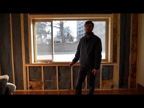 Renovation Time - Demolition & Installing Drywall