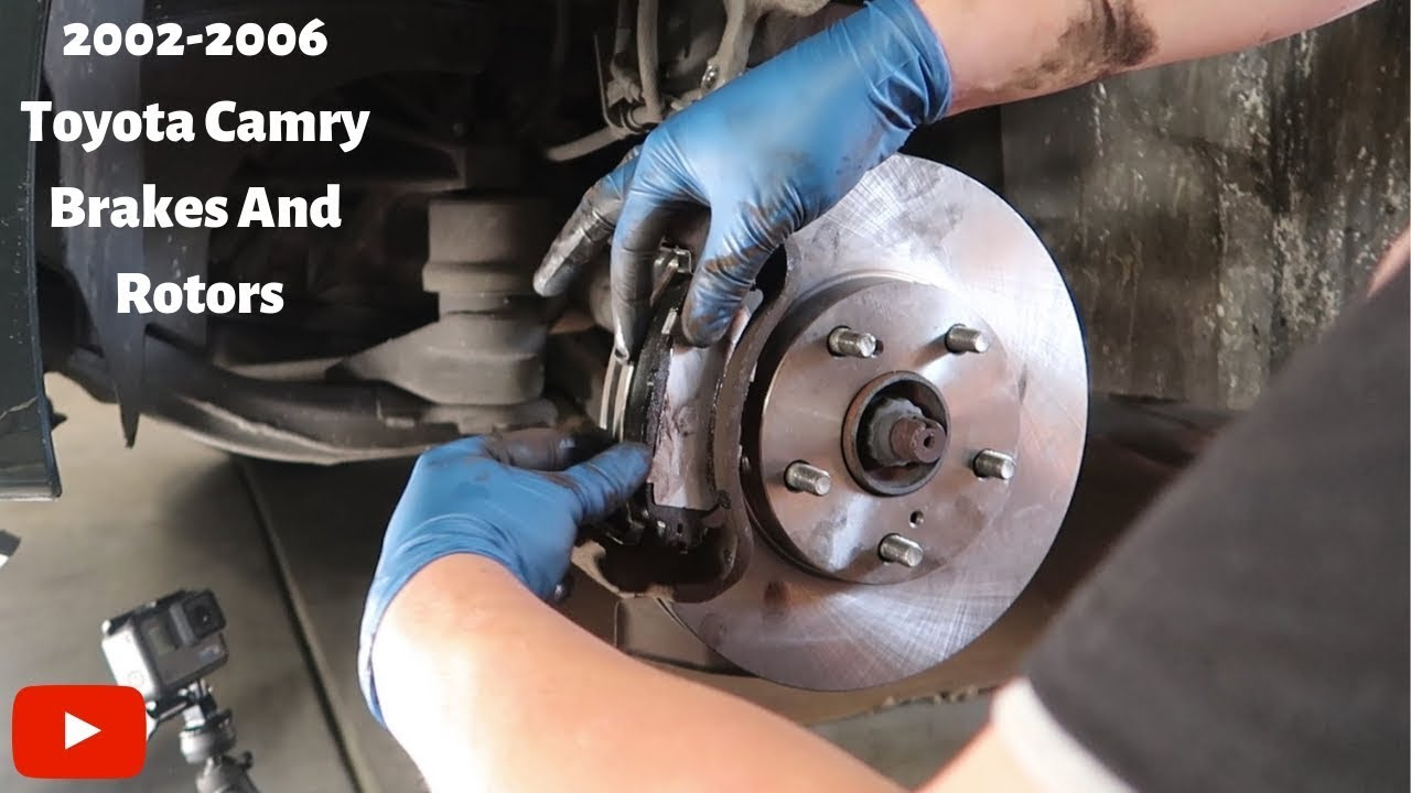 Brakes And Rotors >> Change Brakes And Rotors On 2002 2006 Toyota Camry