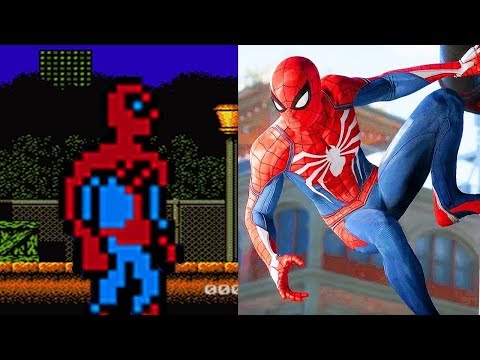 Evolution of Spider Man Video Games | 1982-2018