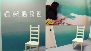 One of CatCreature's most viewed videos: DIY: Ombre Wall | How to Paint & Tips!