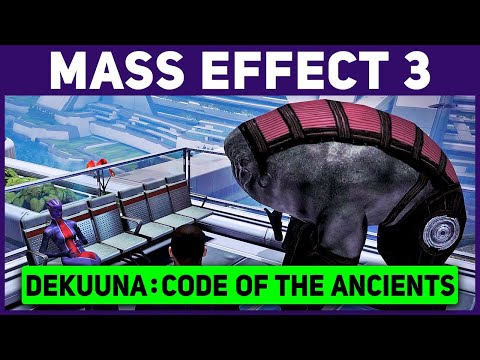 mass effect 3 code of the ancients