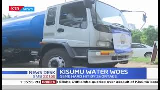 Kisumu County government launches water distribution programme