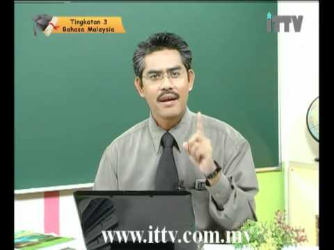 iTTV PMR PT3 Form 3 Bahasa Malaysia Topik 01 Tatabahasa - Kata Ganti Diri -Tuition/Lesson/Exam/Tips